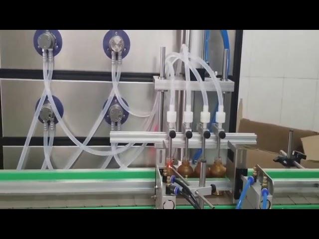 อัตโนมัติ 10 มิลลิลิตร 30 มิลลิลิตร 60 มิลลิลิตร 100 มิลลิลิตรขวดเครื่องบรรจุเครื่องสำอางสำหรับของเหลว