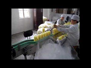 อัตโนมัติลูกสูบสบู่เหลวล้างมือเจลทำความสะอาดเครื่องบรรจุ