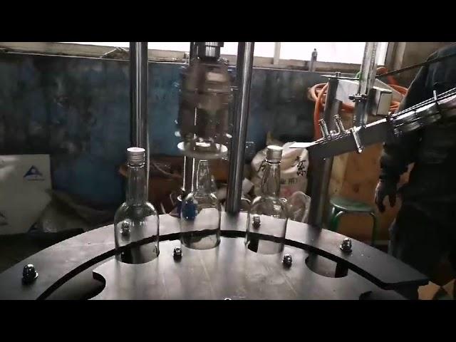 เชิงพาณิชย์อัตโนมัติ ropp หมวกอลูมิเนียมสูงสุดที่กำหนดและเครื่องปิดผนึก