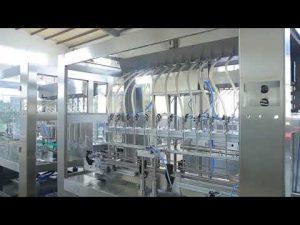 โรงงานอัตโนมัติเชิงเส้นของเหลวข้นหนืดขวดน้ำมันพืชขวดบรรจุเครื่อง